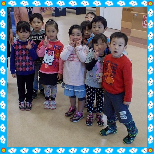 20131114朝日保育園見学 園児フレーム
